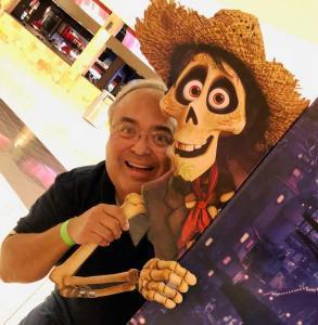 Coco - Disney Pixar Movie - Hector and Favorite Grampy