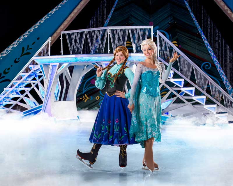 Disney On Ice presents Frozen - Anna and Elsa