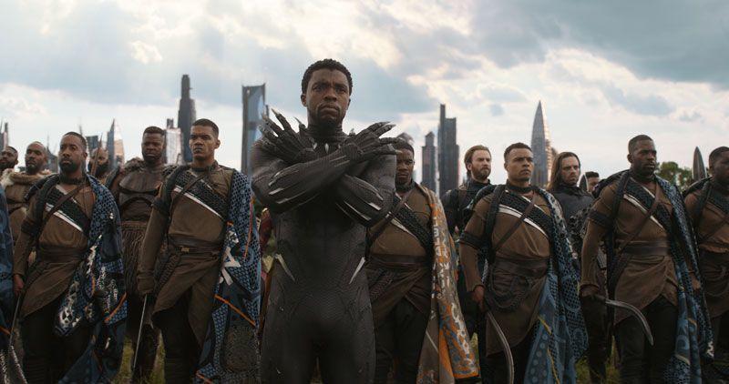 Avengers: Infinity War - Black Panther in Wakanda