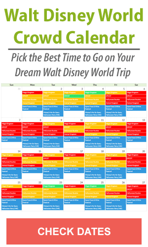 Walt Disney World Crowd Calendar - Check Dates