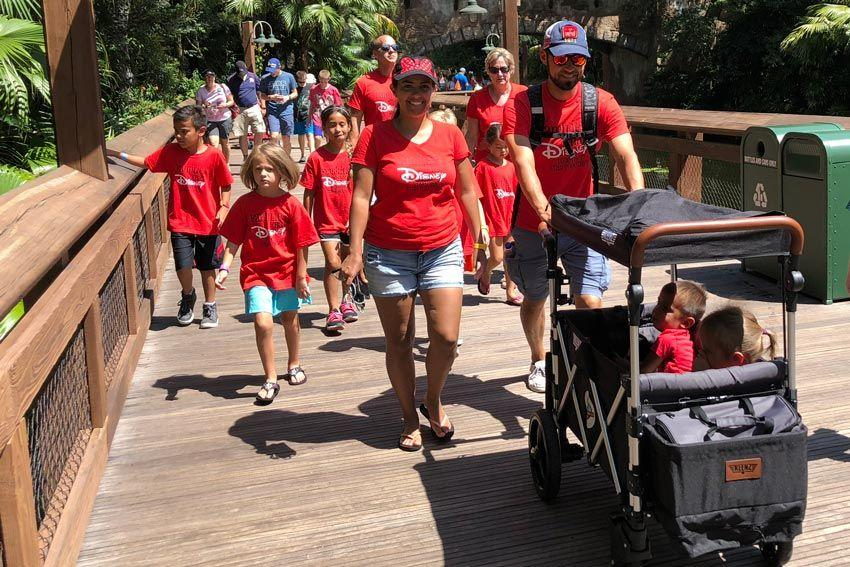 Main Street Strollers - Keenz Wagon Stroller at Walt Disney World FI