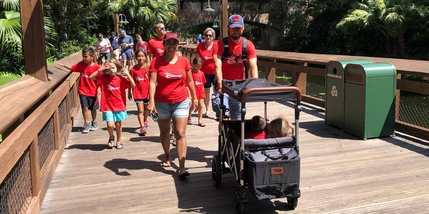Keenz Wagon Stroller at Disney's Animal Kingdom