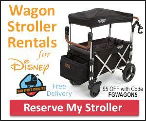 Stroller Rental Disney - Main Street Strollers - Coupon Code