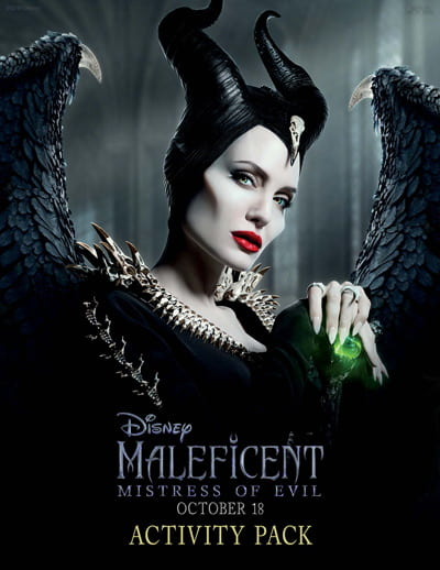 Maleficent Mistress of Evil Activity Pack Download